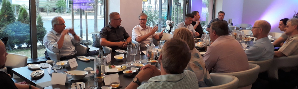 Diskussion beim VDI-Meeting